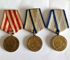 Russian WWII Collectable Medals (1939-1945)