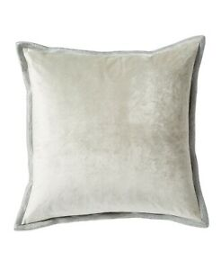 "$160 Michael Aram Velvet With Metallic Stitch Decorative Pillow Seafoam 18"" x 18"