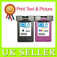 2 Ink cartridge For HP 300XL Black and Colour Deskjet F4280 F4288 F4500 F4580