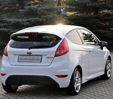 "Rear bumper spoiler for FORD FIESTA MK7 7 ABS Plastic "" ST Line """