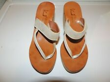 K. Jacques Women's Wedge Sandals Size 7.5 EU38