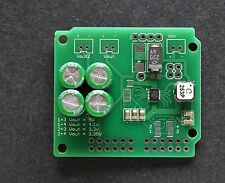 Solar Energy Harvesting power supply w/ Ltc3108 and super capacitor storage