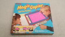 Vintage Tyco SUPER MAGIC COPIER Toy Copy Machine Pen Box 1990