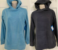 NEW COLUMBIA Women's Arctic Air Fleece Pullover Hoodie Light Weight, S-M-L-XL