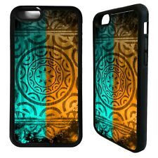Maori aztec polynesian pattern case cover for iphone 5 6 7 8 plus X XS Max XR