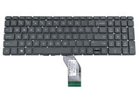 HP 15-BS 15-BW 15G-BR ENGLISH ASH SILVER LAPTOP KEYBOARD V162602AS1 PK132045E00