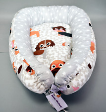BABY NEST FOR NEWBORN SLEEP SNUGGLE COCOON CRIB BED