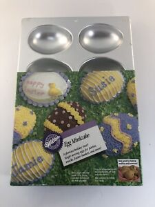 Wilton Egg , Mini Cakes, Brownies , Muffins  8 Mold Pan Sealed