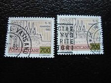 VATICAN - timbre yvert et tellier n° 724 x2 obl (A28) stamp (Z)