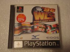 PS1 Playstation Game WLS World League Soccer - new