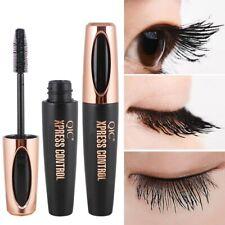 Black 4D Silk Fiber Eyelash Mascara Extension Makeup Black Waterproof Eye Lashes