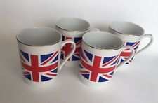 Set of 4 NEW Mug FLAG OF GREAT BRITAIN for Tea Coffee - 250ml - UK SOUVENIR GIFT
