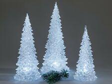 Formano Deko Baum Pyramide Tannenbaum mit LED-Licht Acryl Größe wählen ?