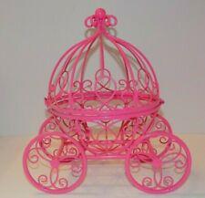 Cinderella Decorative Metal Coach Centerpiece-Card Holder-Plant Holder-Shower ++