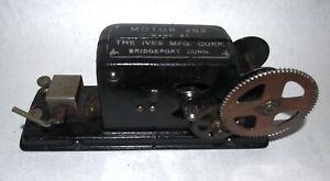 IVES Prewar Struktiron 262 Cast Iron Electric Motor! NICE! RUNS! PA