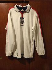 England jersey David Beckham no match worn tech fit, no formotion, reversible