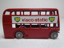 "Moko Lesney Matchbox#5B-4 LONDON DOUBLE DECKER BUS.""VISCOSTATIC"" RESTORED NM GPW"