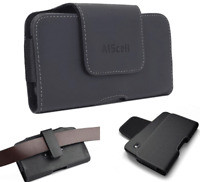 Leather Pouch Holster Swivel Belt Clip For iPhone SE(2020) , iPhone 8 , iPhone 7