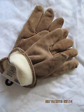 6 PAIRS MENS WORK GLOVES SIZE LG HEAVY INSULATION WINTER LEATHER, WESTCHESTER