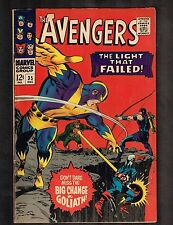 """Avengers #35 ~ """"The Light That Failed!"""" ~ 1966 (5.5) WH"""