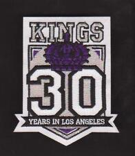 NHL LOS ANGELES KINGS 30TH ANNIVERSARY PATCH VERY RARE LA KINGS JERSEY