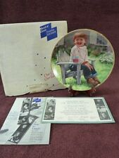 Knowles Collectors Plate Abbie Williams A Time To Laugh (185)