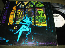 Flesh For Lulu Blue Sisters Swing Hybrid LP EP 1985 uk original glamrock
