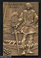 GONCALVES ZARCO / by VASCO BERARDO / Bronze Medal. M.22b