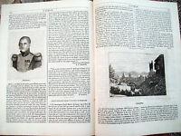 1842 'L'ALBUM' RIVISTA CON VEDUTA  DI LOSANNA E BOCCA DELLE DENUNCE A VENEZIA