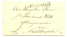 NED  EGYPT LANGST = BUITENPOST = 1864 ca   BRIEFOMSLAG -DEEL    PR EX