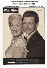 MEIN FILM - BEAUTIFUL MARILYN MONROE COVER! - 1955 - VINTAGE, COMPLETE, HUGE