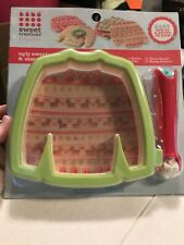 Ugly Christmas Sweater Cookie Cutter and Stamp Roller - NEW