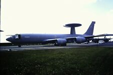 2/125-2 Boeing E-3D Awac Royal Air Force Kodachrome SLIDE
