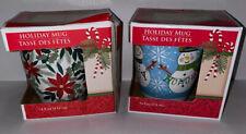Christmas Mugs Set Of 2. Great Stocking Stuffers