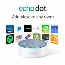 Amazon Echo Dot 2nd Generation w/ Alexa Voice Media Device - White (BRAND NEW)