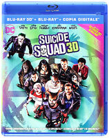 SUICIDE SQUAD 3D - EXTENDED CUT (BLU-RAY 3D + BLU-RAY) Will Smith, Jared Leto