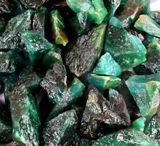 Green Emerald Gemstone Rough Wholesale Lot 500 Ct Natural Colombian
