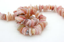Pink Opal Small Nugget Chips Pebble Assorted Size Loose Smooth Natural Gemstone