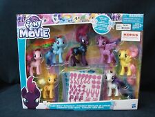 My Little Pony The Movie Cutie Mark Collection Playset NEW Exclusive Figures