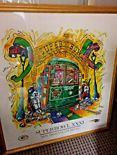 Super Bowl XXXI Artist Signed & numbered Tuna Seither