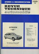 (48B) REVUE TECHNIQUE AUTOMOBILE CITROEN GS