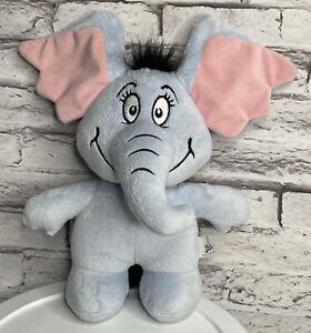 "Aurora Horton Hears A Who Dr Seuss Elephant Plush 10.5"""