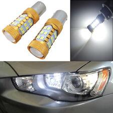 2x HID White 1156 LED Bulb for Mitsubishi Lancer Evo X Daytime Running Light DRL