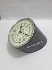 Nautical Clock Nautical Table/Desk Clock Antique leather clock A Gifted Item