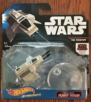 Disney Hot Wheels Collectible Star Wars Rebels Starships The Phantom with stand