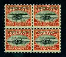 BOLIVIA 1930 AIRMAIL - Aviation School - bronze surch. 5c/10c red Sc#C19 mint NH