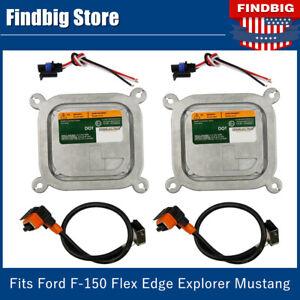 2 Set Xenon HID Ballasts Igniter Set for Ford F-150 Flex Edge Explorer Mustang