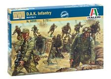 6099 DAK Infantry  World War II  Italeri 1:72 model kit