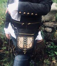 Waist Leg Hip Bag Holster Pouch Leather Python Steampunk Dieselpunk feeanddave