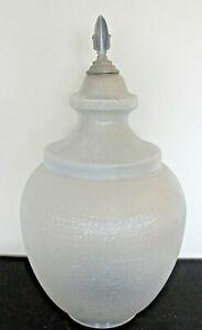 Vintage Street Lamp Globe w/Finial